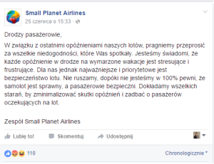 Small planet Airlnies